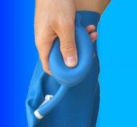 Aquaskin protection tanche pour piscine baignade douche mode d 39 emploi pour bras et jambe - Protection platre douche ...